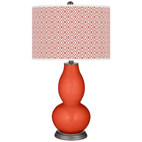Daredevil Diamonds Double Gourd Table Lamp
