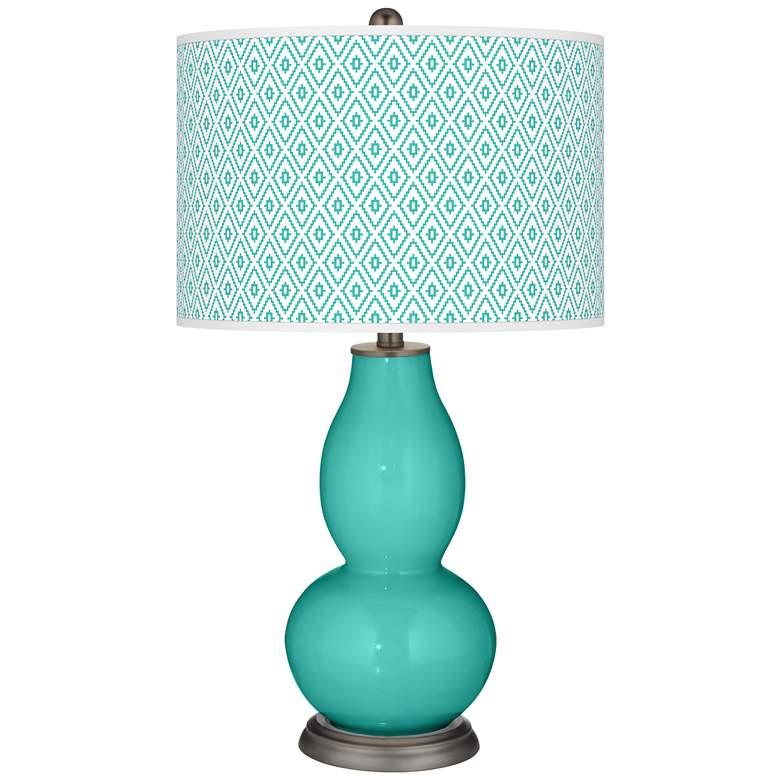 Synergy Diamonds Double Gourd Table Lamp