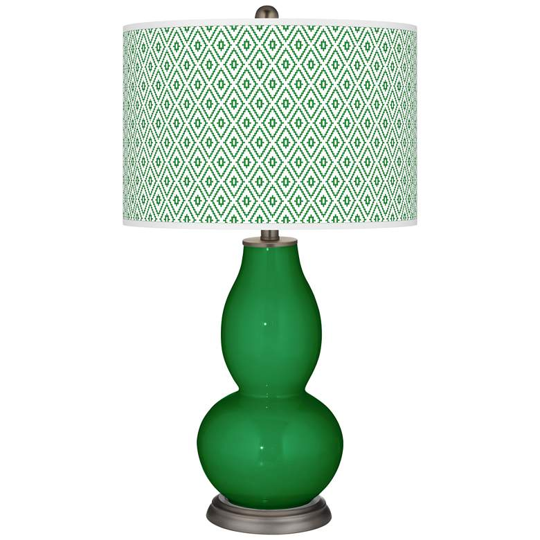 Envy Diamonds Double Gourd Table Lamp
