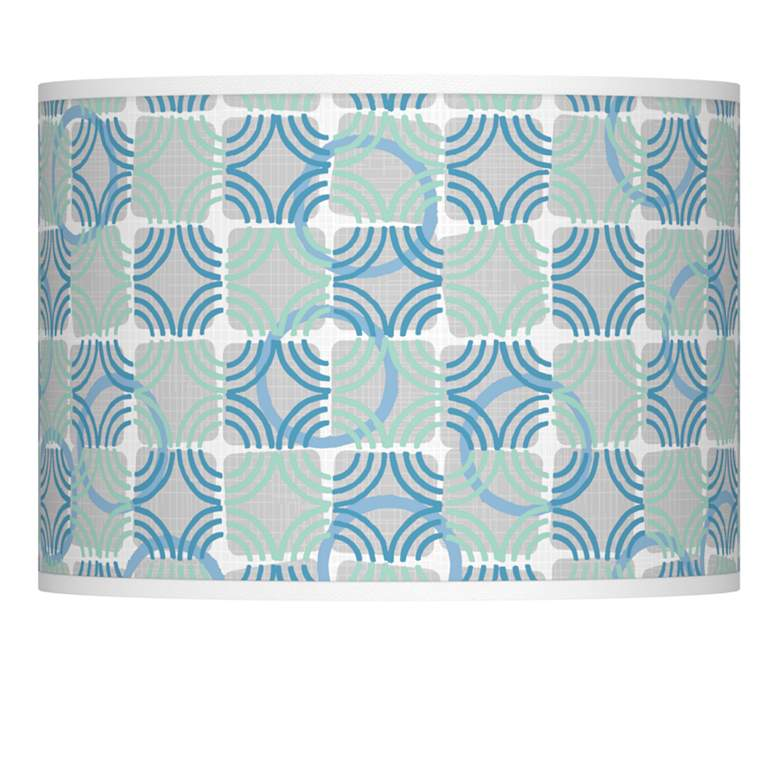 Deco Circles Giclee Lamp Shade 13.5x13.5x10 (Spider)
