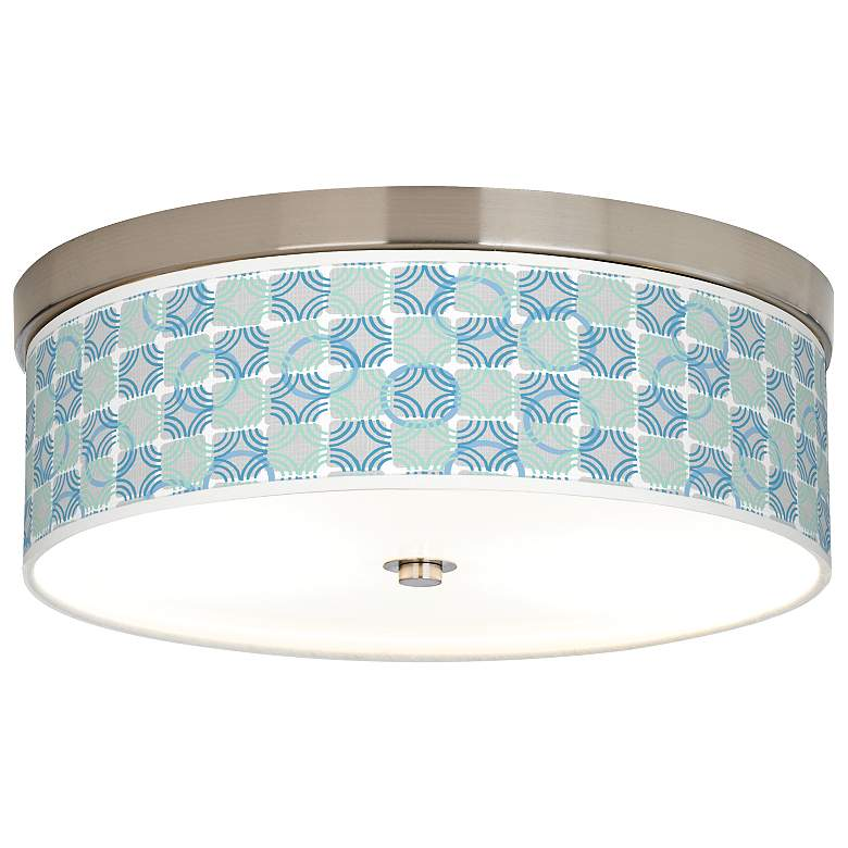 Deco Circles Giclee Energy Efficient Ceiling Light