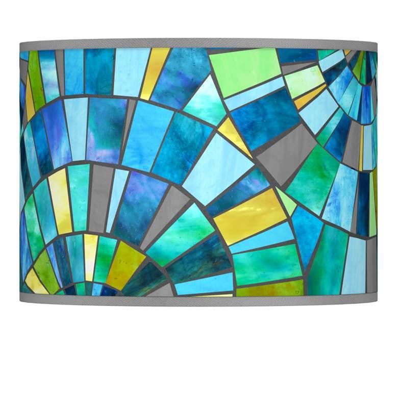 Lagos Mosaic Giclee Lamp Shade 13.5x13.5x10 (Spider)