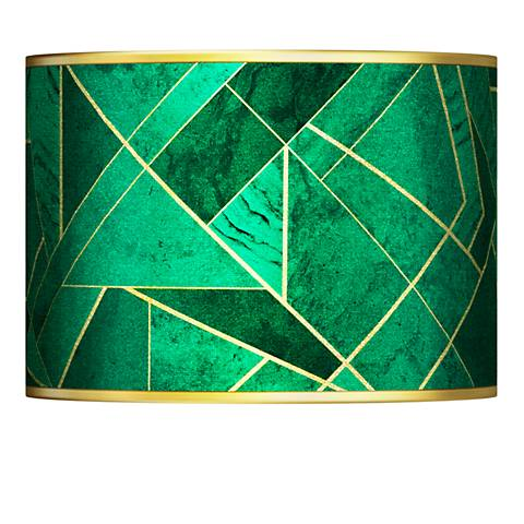 Emerald City Gold Metallic Lamp Shade 13.5x13.5x10 (Spider)