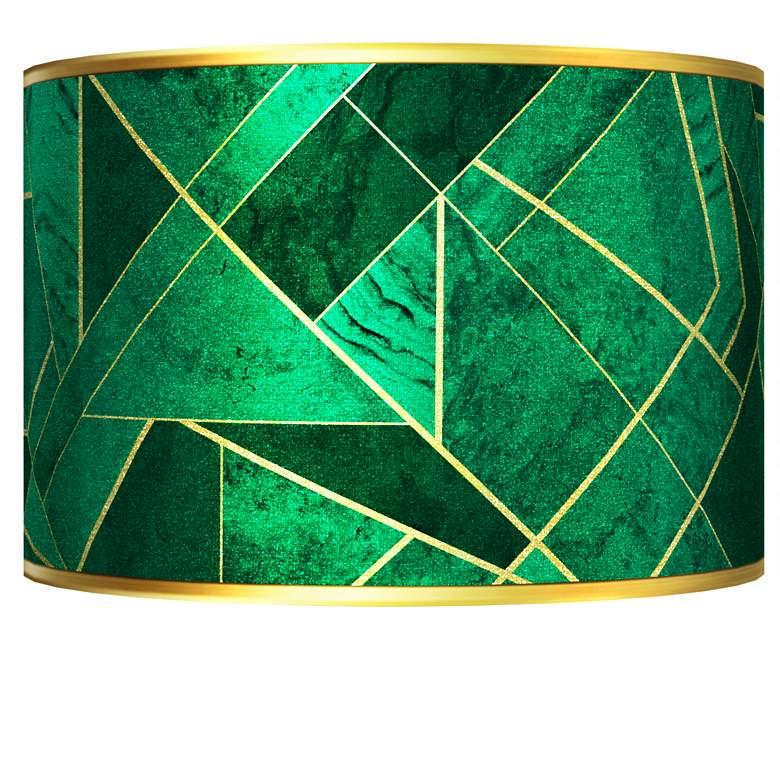 Emerald City Gold Metallic Giclee Shade 12x12x8.5 (Spider)