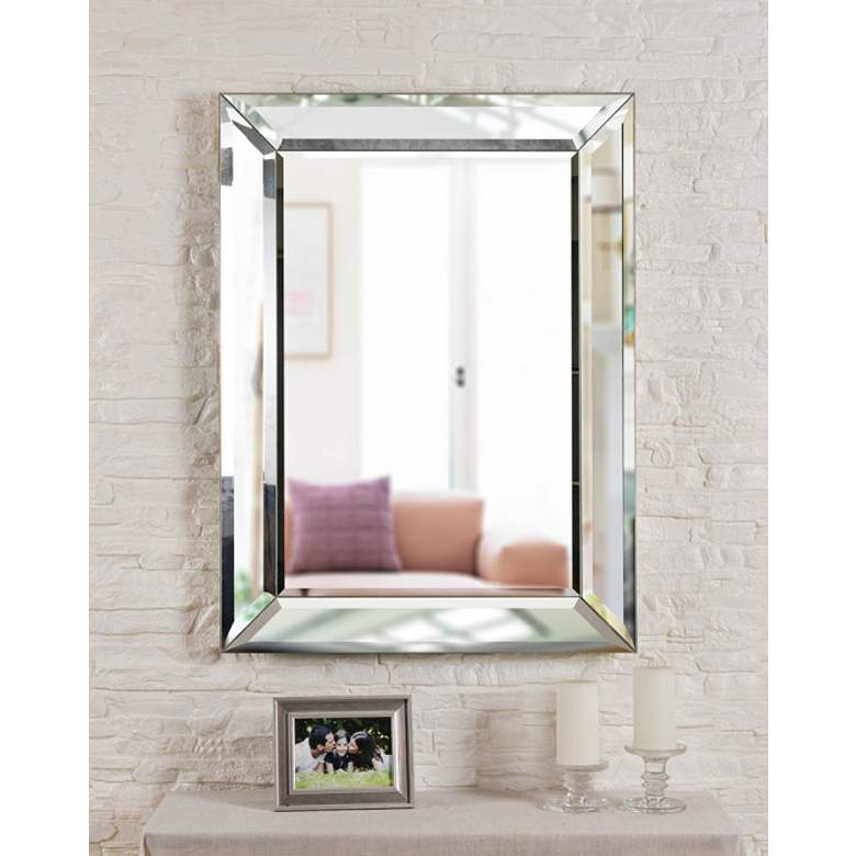 "Kenroy Home Beverly 30"" x 40"" Wall Mirror"