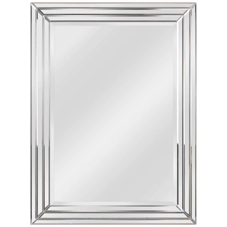 """Kenroy Home Exeter 30"""" x 40"""" Beveled Wall Mirror"""