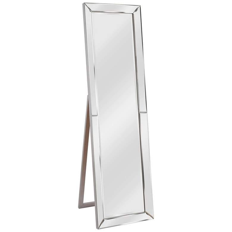 "Kenroy Home Chauncey Silver 18 1/4"" x 64"" Floor Mirror"