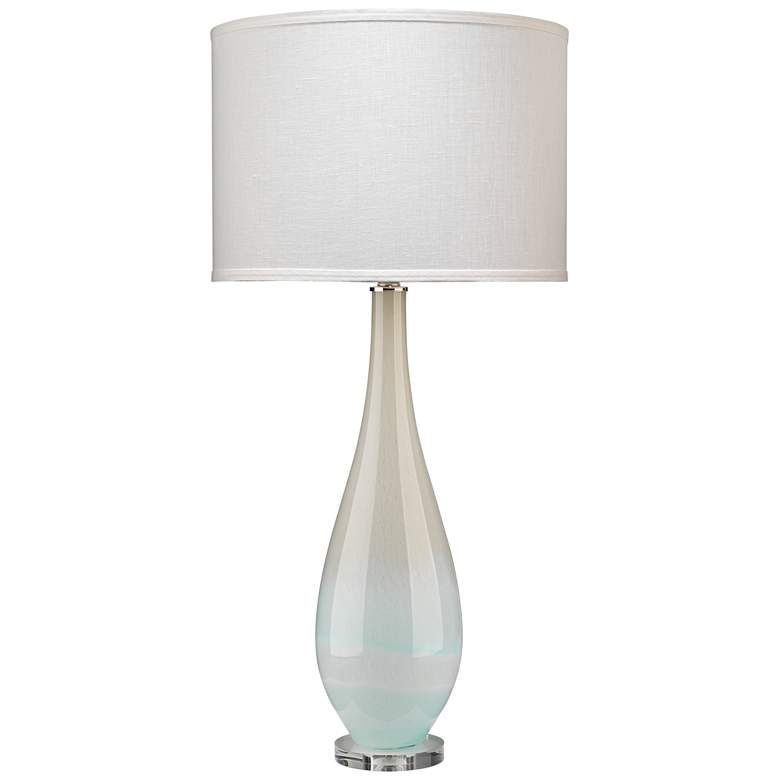 Jamie Young Dewdrop Sky Blue Glass Table Lamp