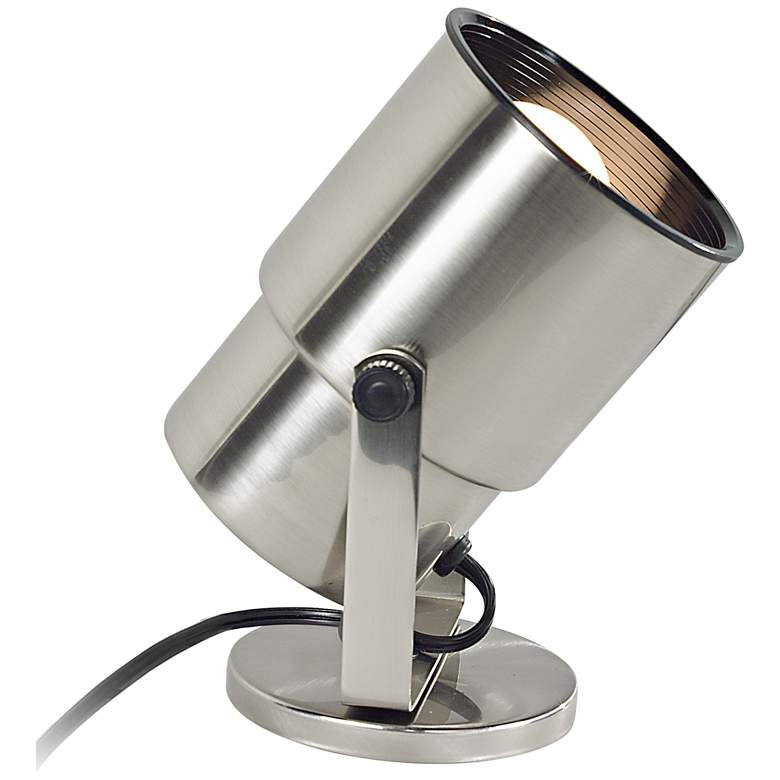 """Pro Track Brushed Nickel 8"""" High Accent Uplight"""