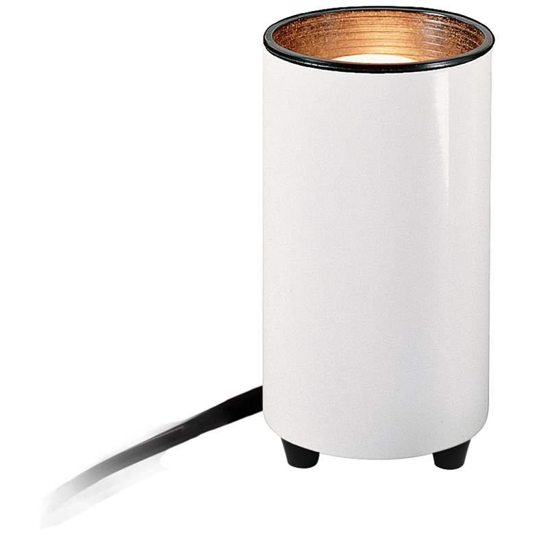 """Mini Accent 6 1/2"""" High Can Spot Light in White"""