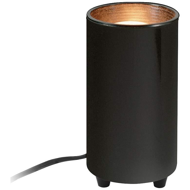 "Mini Accent 6 1/2"" High Can Spot Light in Black"