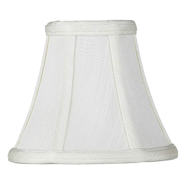 Creme Bell Lamp Shade 3x6x5 (Clip-On)