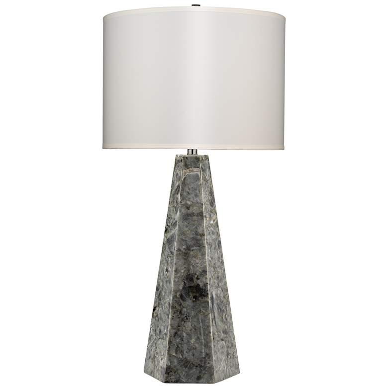 Jamie Young Borealis Hexagon Labradorite Table Lamp
