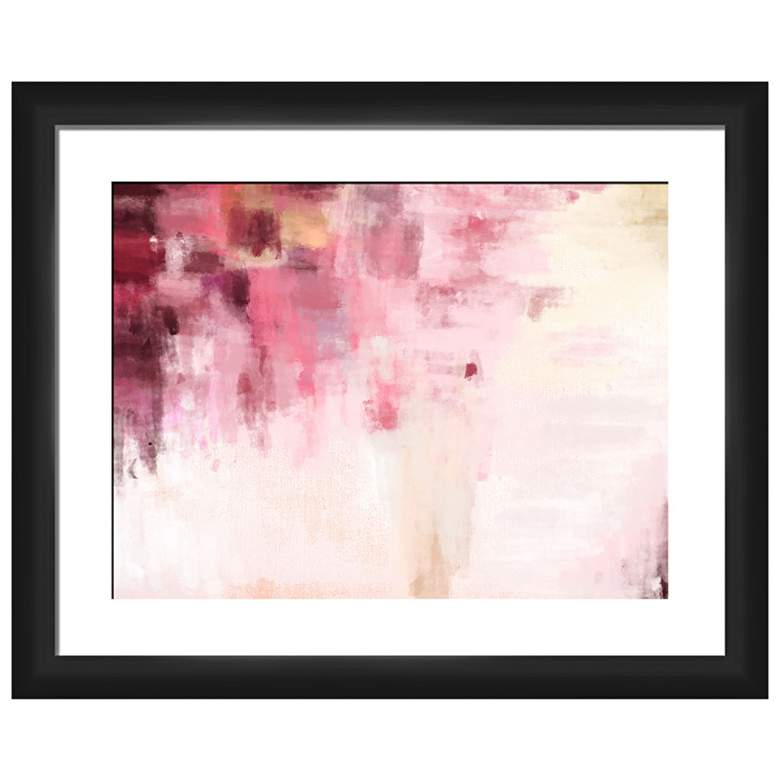 "Abstract Dreaming 22"" Wide Framed Giclee Wall Art"