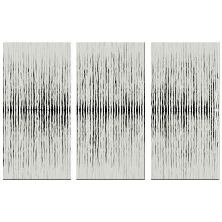 """Horizon 40"""" High Triptych 3-Piece Canvas Wall Art"""
