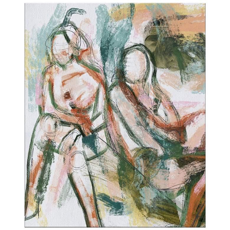 "Figurative Study 20"" High Rectangular Giclee Canvas Wall Art"