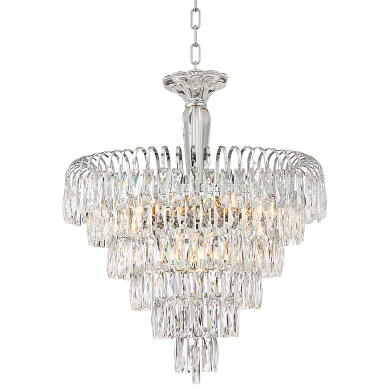 "Claudine 21 1/2"" Wide 11-Light Crystal Chandelier"