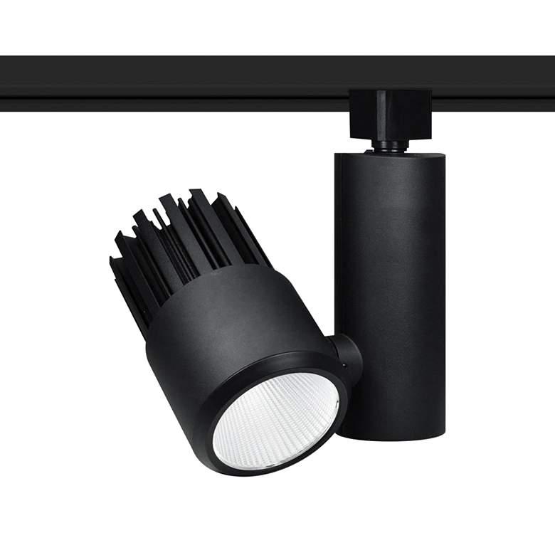 Nora Aiden 15 Watt Black 3000K LED Cylinder