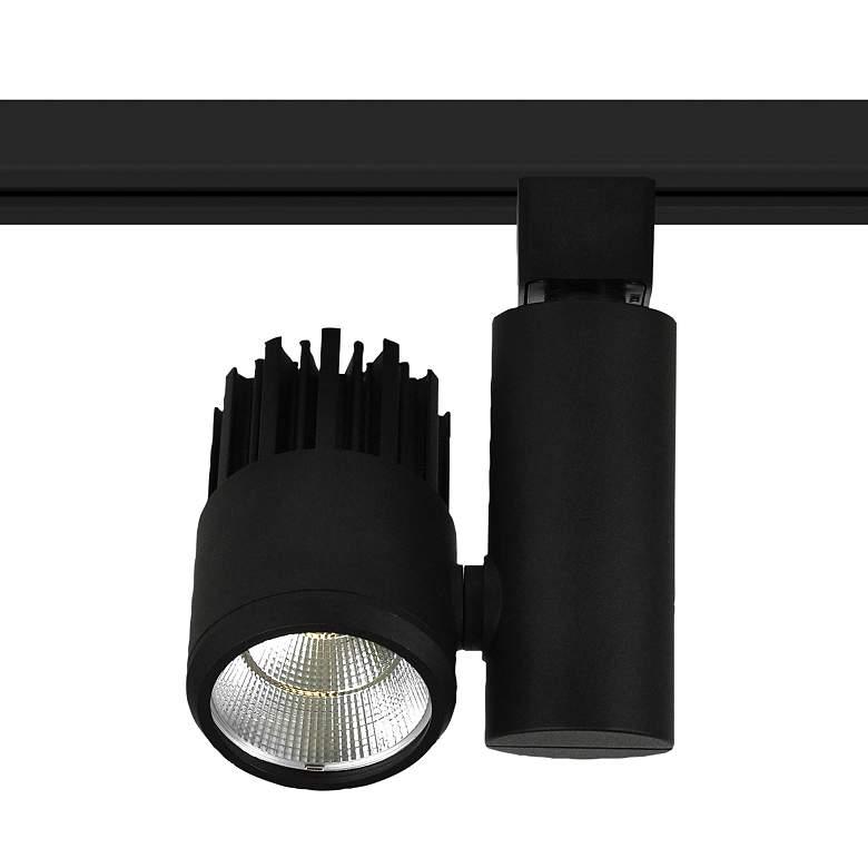 Nora Aiden 35 Watt Black 3000K LED Cylinder