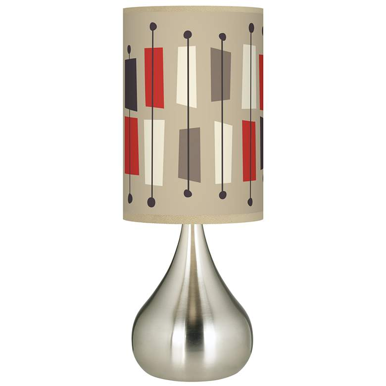 Bounce Giclee Big Droplet Table Lamp