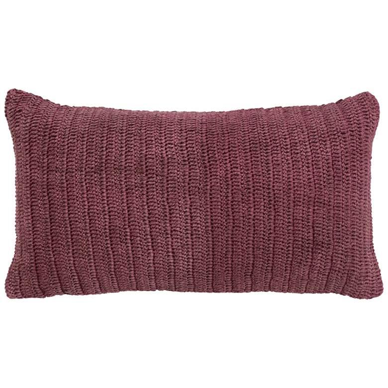 """Rina Berry 26"""" x 14"""" Rectangular Decorative Pillow"""
