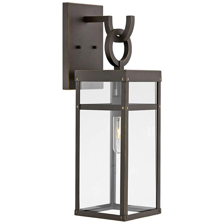 "Hinkley Porter 22"" High Oil-Rubbed Bronze Outdoor Wall Light"