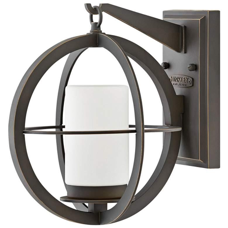 "Compass 11 3/4"" High Oil-Rubbed Bronze Outdoor Wall Light"