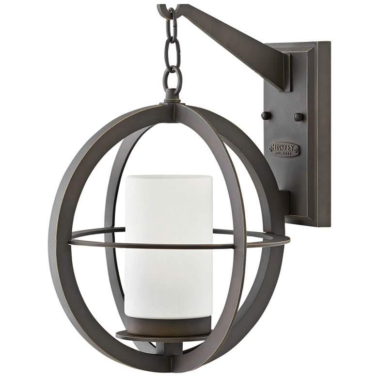 "Compass 16 1/4"" High Oil-Rubbed Bronze Outdoor Wall Light"