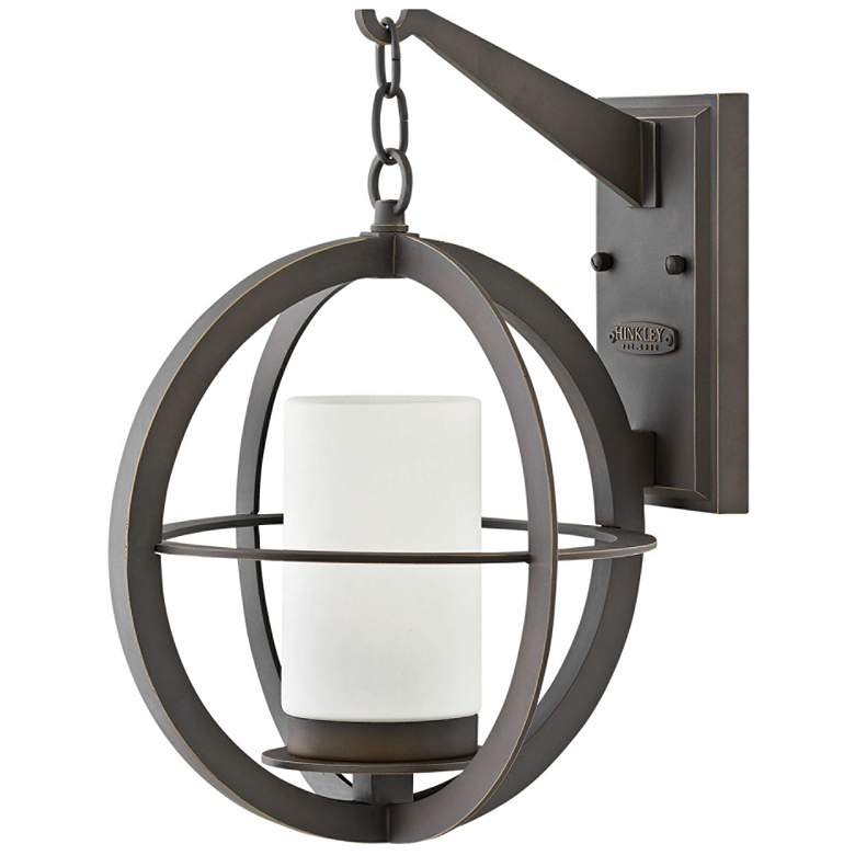 "Compass 16 1/4"" High Oil-Rubbed Bronze Outdoor Wall Light"