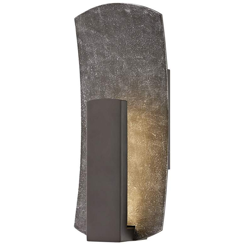 """Hinkley Bend 14"""" High Bronze LED Outdoor Wall Light"""