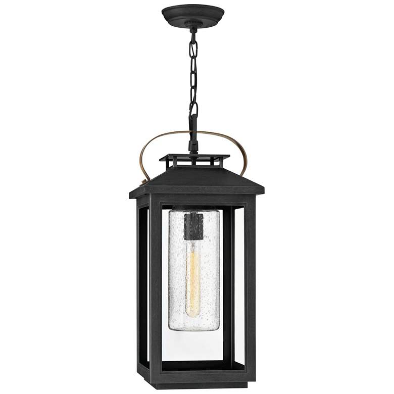 """Hinkley Atwater 21 1/2"""" High Black Outdoor Hanging Light"""