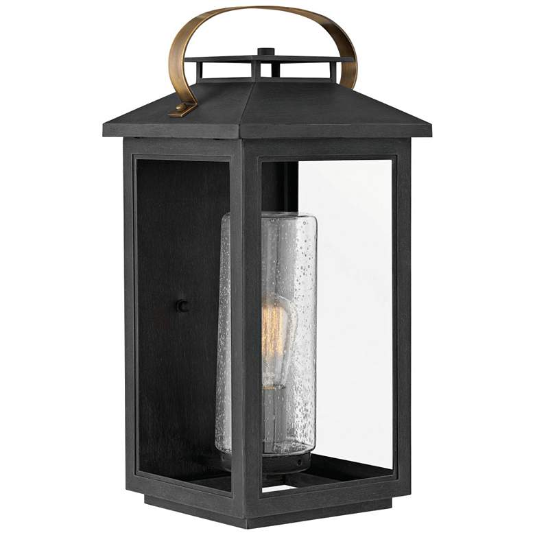 "Hinkley Atwater 20 1/2""H Black Outdoor Wall Light"