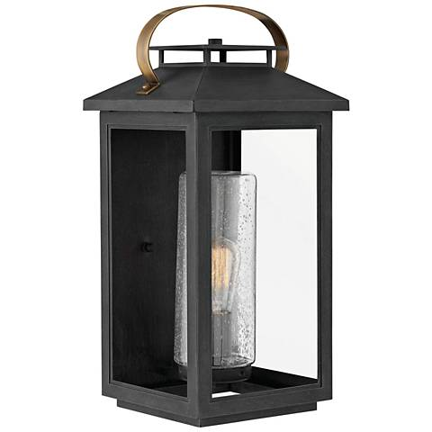 """Hinkley Atwater 20 1/2""""H Black Outdoor Wall Light"""