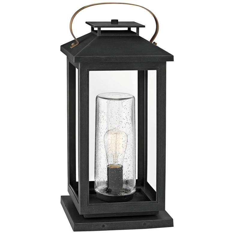 """Hinkley Atwater 21 1/2"""" High Black Glass Outdoor"""