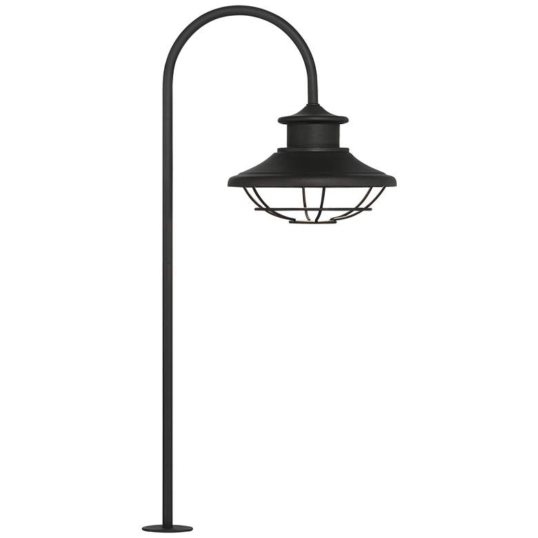"Braden 23 1/2"" High Textured Black Outdoor LED Path Light"