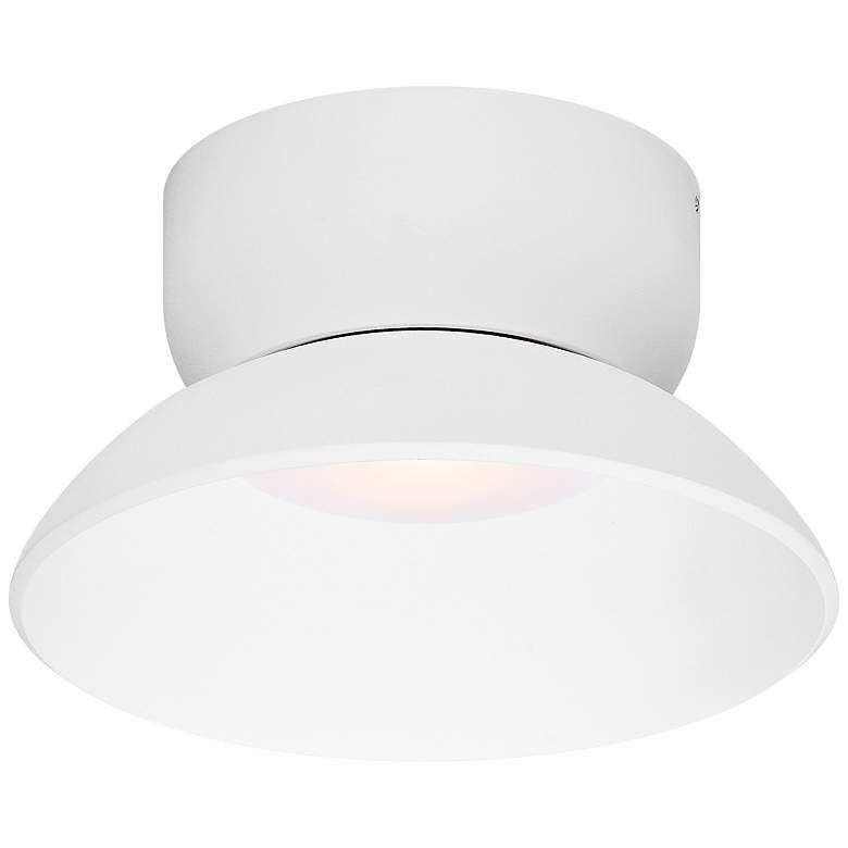 """ET2 Alumilux 7 3/4""""W White LED Outdoor Ceiling/Wall Light"""