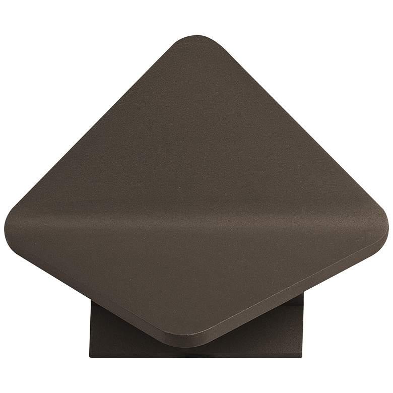 "ET2 Alumilux 6 3/4"" High Bronze LED Outdoor"