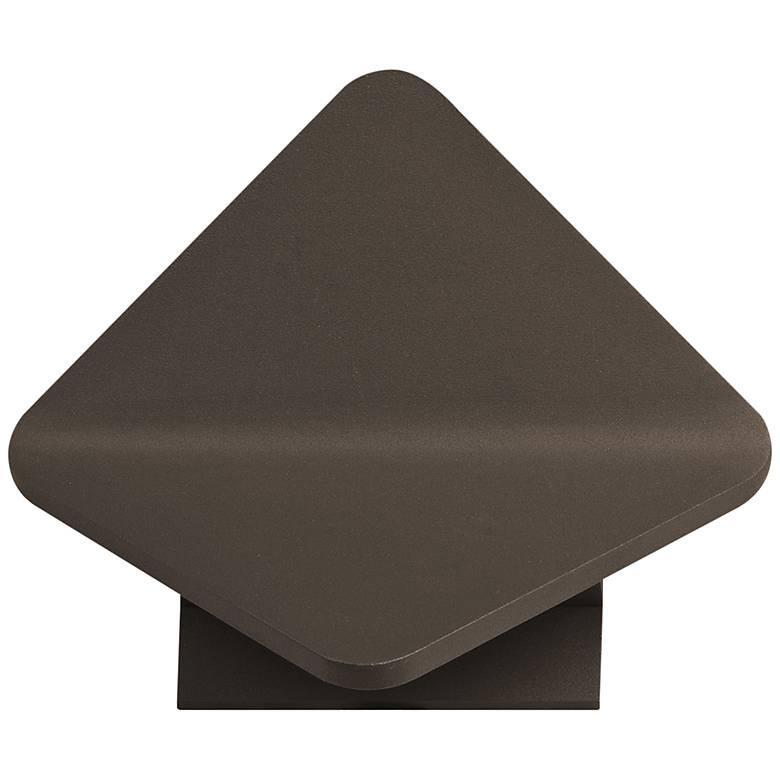 """ET2 Alumilux 6 3/4"""" High Bronze LED Outdoor Wall Light"""