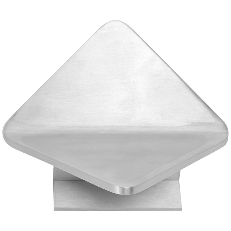 "ET2 Alumilux 6 3/4""H Satin Aluminum LED Outdoor Wall Light"