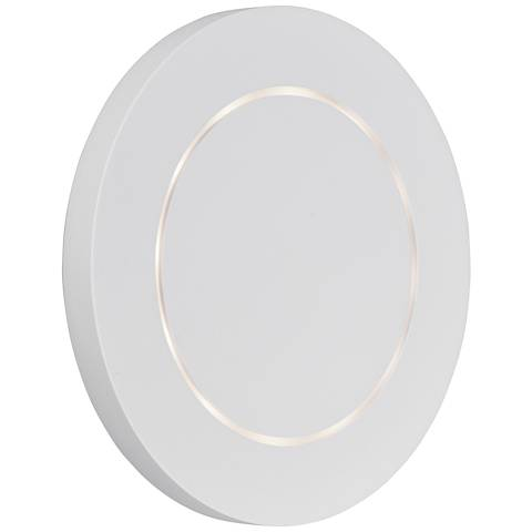 "ET2 Alumilux 7"" High White LED Outdoor Wall Light"