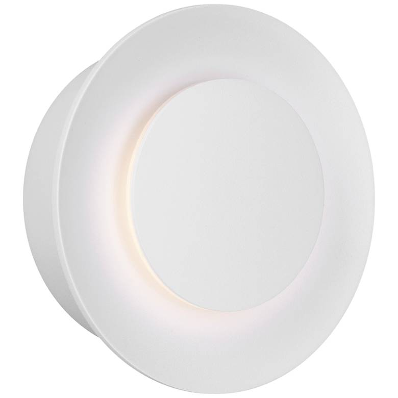 "ET2 Alumilux 6""H White LED Non-Dimmable Outdoor Wall Light"