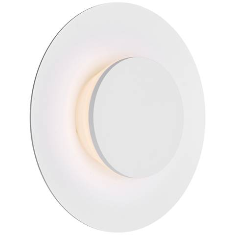 "ET2 Alumilux 9"" High White LED Outdoor Wall Light"