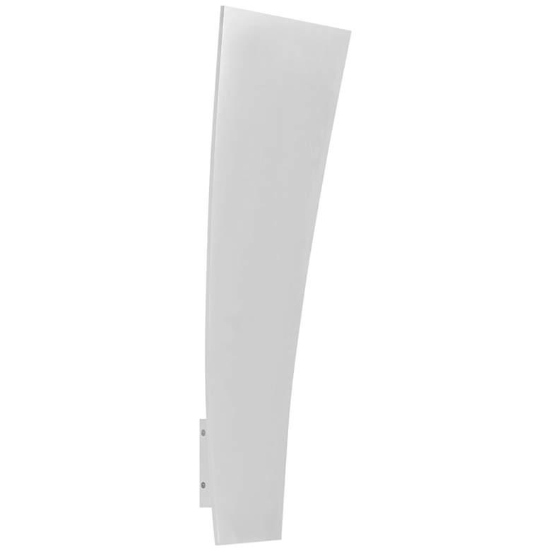 "ET2 Alumilux 28"" High Satin Aluminum LED Outdoor Wall Light"