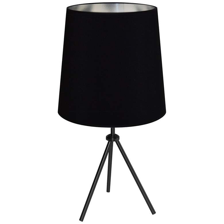 """Finesse 28 1/2"""" High Black Table Lamp with"""