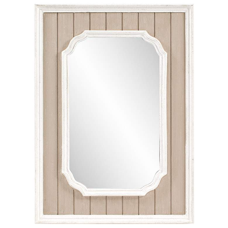 "Howard Elliott Nanette Antique Taupe 31"" x 43"" Wall Mirror"