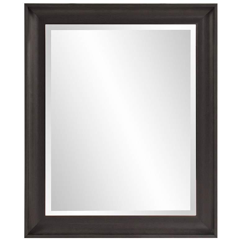 """Howard Elliott Parker Black 28"""" x 34"""" Wall Mirror"""