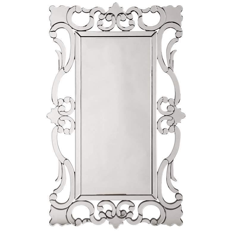 "Howard Elliott Rebecca 29"" x 47"" Scroll Wall Mirror"