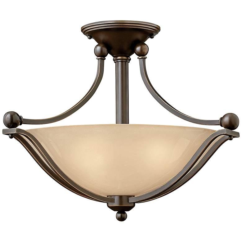 "Hinkley Bolla 19 1/4"" Wide Olde Bronze Ceiling Light"
