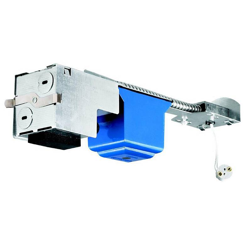 """Lightolier 4"""" Low Voltage Non-IC Remodel Light Housing"""