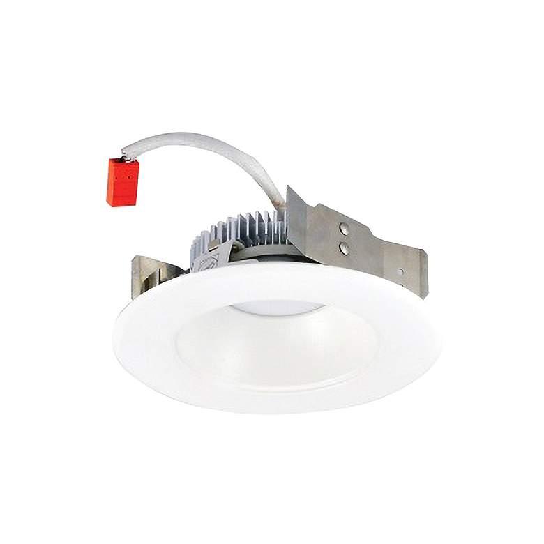 "Nora Cobalt 4"" White LED Dedicated Shallow Reflector Trim"